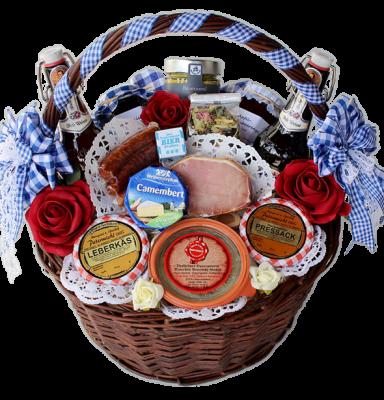 Geschenkkorb Schmied von Kochel